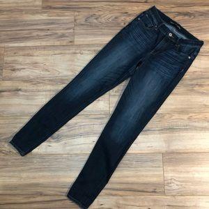 Express High Rise Denim Legging Jegging Jeans 6